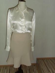 sukně s halenkou